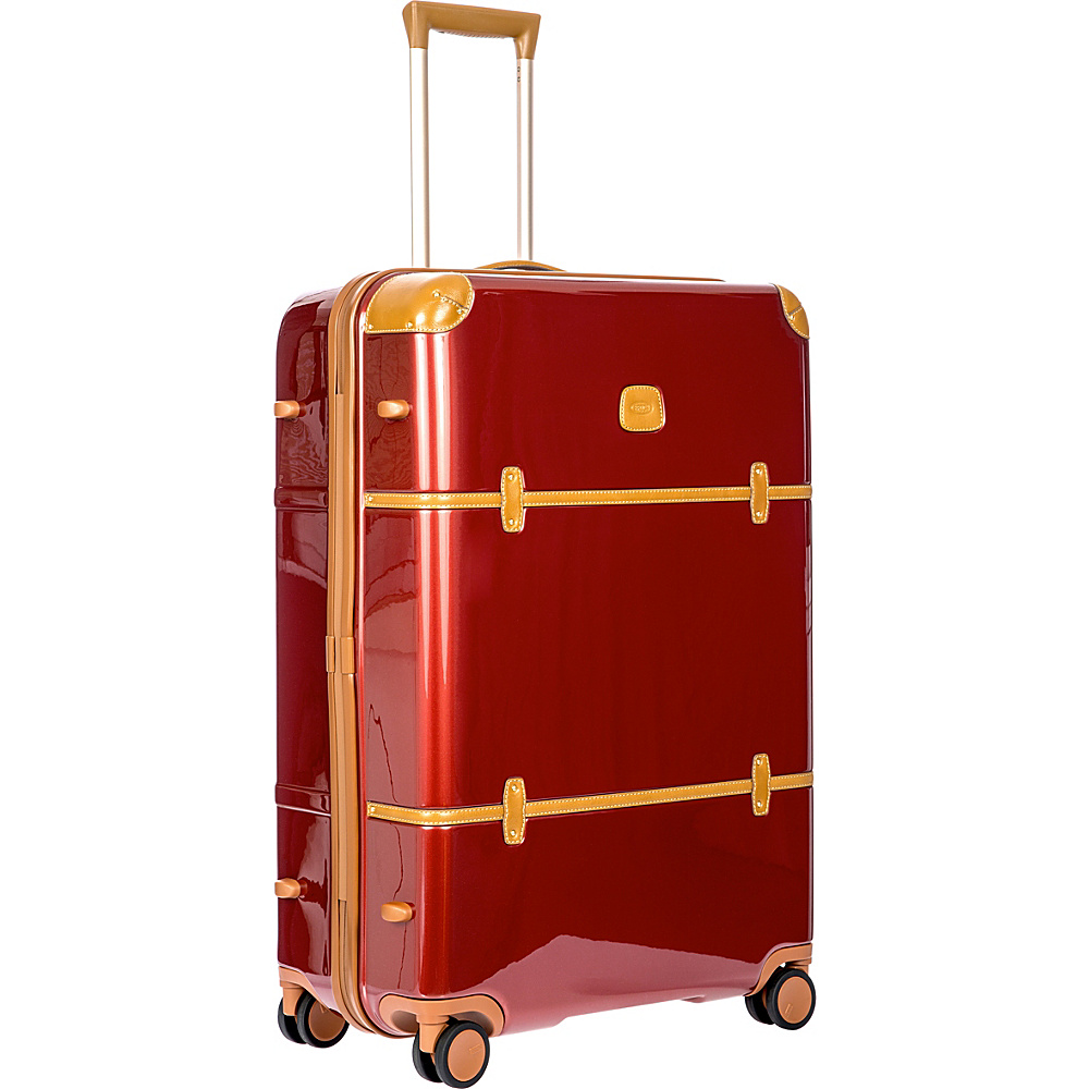 BRIC S Bellagio 2.0 30 Spinner Trunk Shiny Red BRIC S Hardside Checked