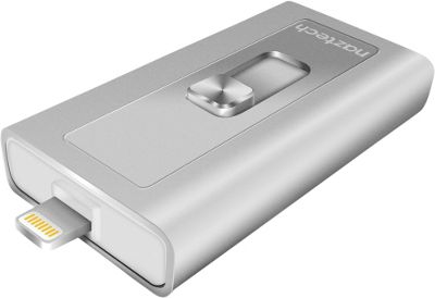 Naztech Xtra Drive Apple Certified MFI Flash Drive Silver - Naztech Electronic Accessories