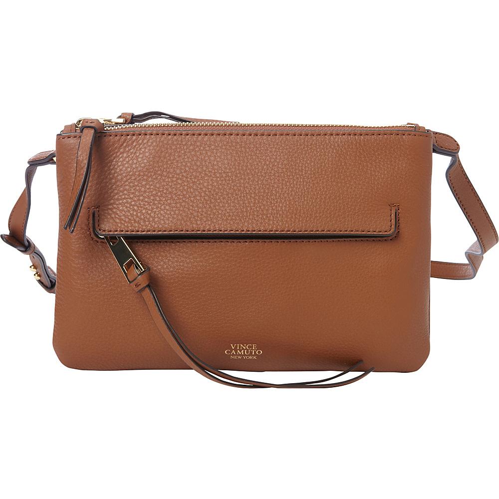 Vince Camuto Gally Crossbody Brandy Vince Camuto Designer Handbags