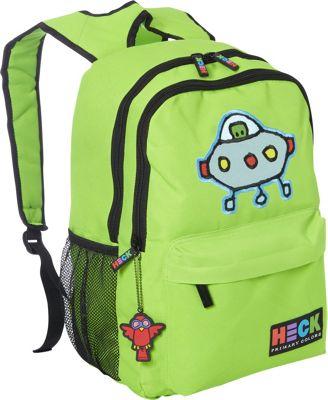 Ed Heck Luggage Pods Green Backpack Pod Green - Ed Heck Luggage Everyday Backpacks