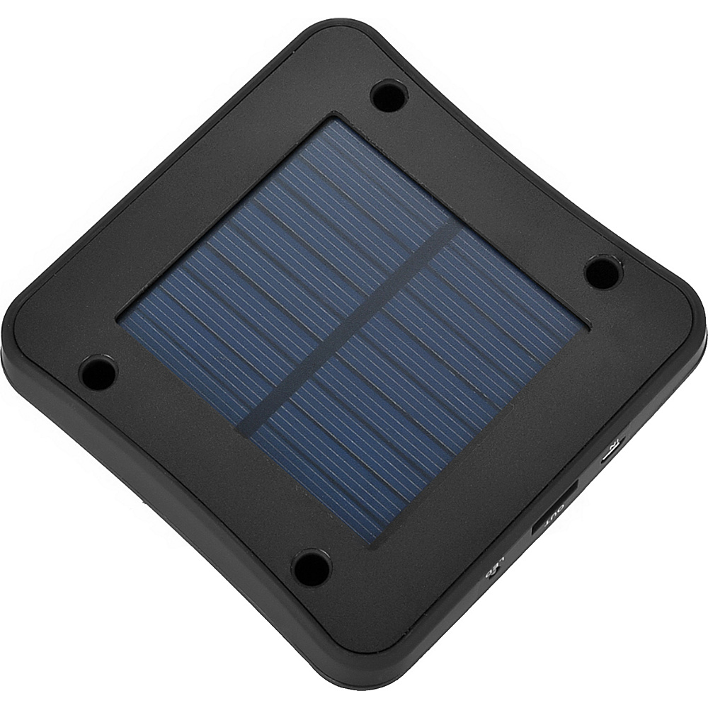 Koolulu Solar USB Window Charger Black Koolulu Portable Batteries Chargers