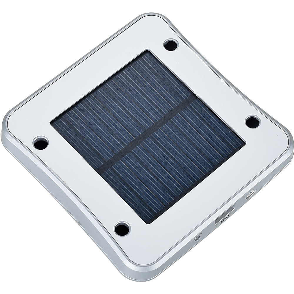 Koolulu Solar USB Window Charger Silver Koolulu Portable Batteries Chargers