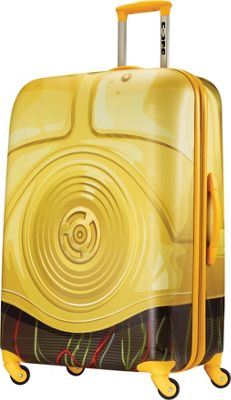 American Tourister Star Wars Spinner 28 C3PO - American Tourister Hardside Checked