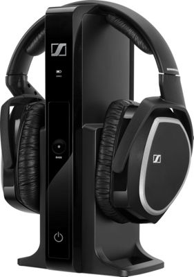Sennheiser Digital Wireless Headphone System Black - Sennheiser Headphones & Speakers