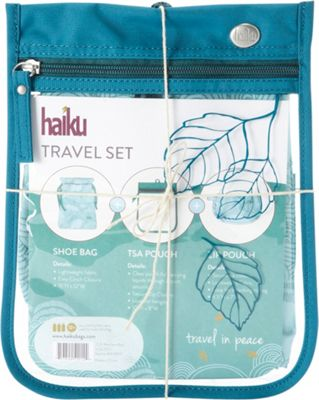 Haiku Travel Set Sea Blue - Haiku Travel Health & Beauty