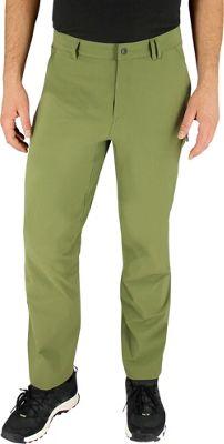 Image of adidas apparel Mens Flex Hike Pant 30 - Olive Cargo - adidas apparel Men's Apparel
