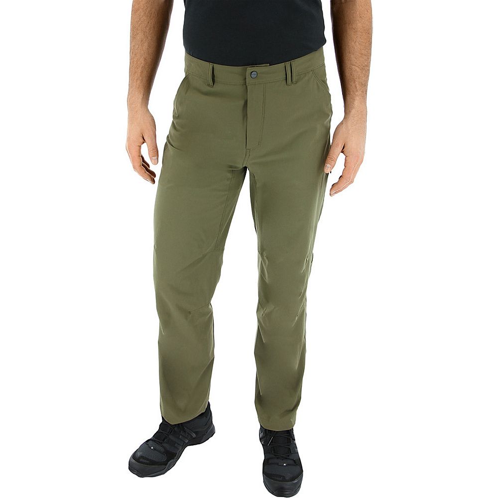 adidas outdoor Mens Flex Hike Pant 34 - Trace Olive - adidas outdoor Mens Apparel - Apparel & Footwear, Men's Apparel