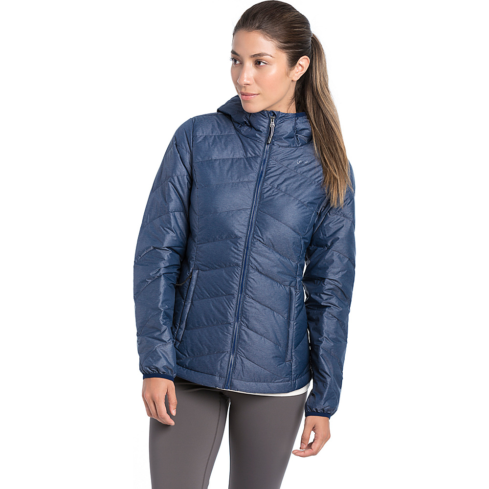 Lole Emeline Jacket L - Amalfi Blue Heather - Lole Womens Apparel - Apparel & Footwear, Women's Apparel