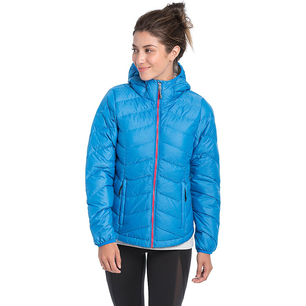 Lole Emeline Jacket L - Electric Blue Heather - Lole Womens Apparel - Apparel & Footwear, Women's Apparel