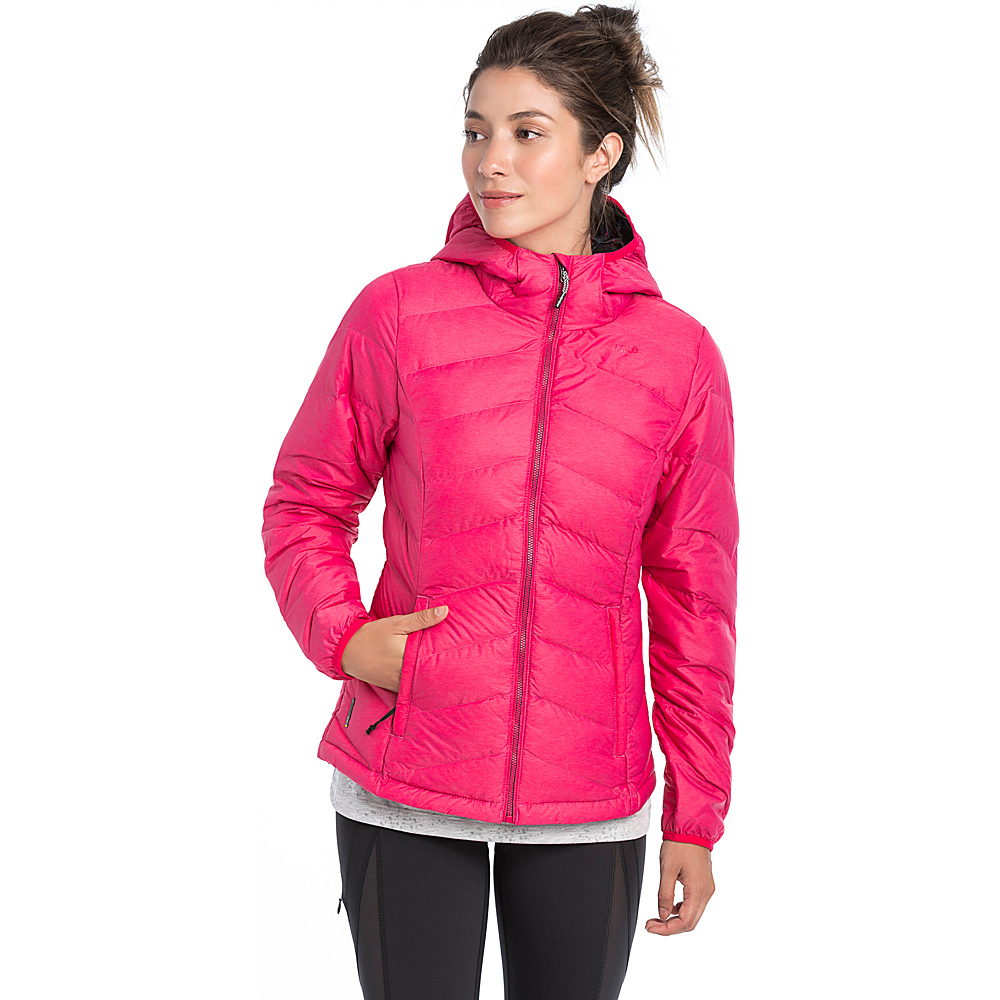 Lole Emeline Jacket L - Azalea Heather - Lole Womens Apparel - Apparel & Footwear, Women's Apparel