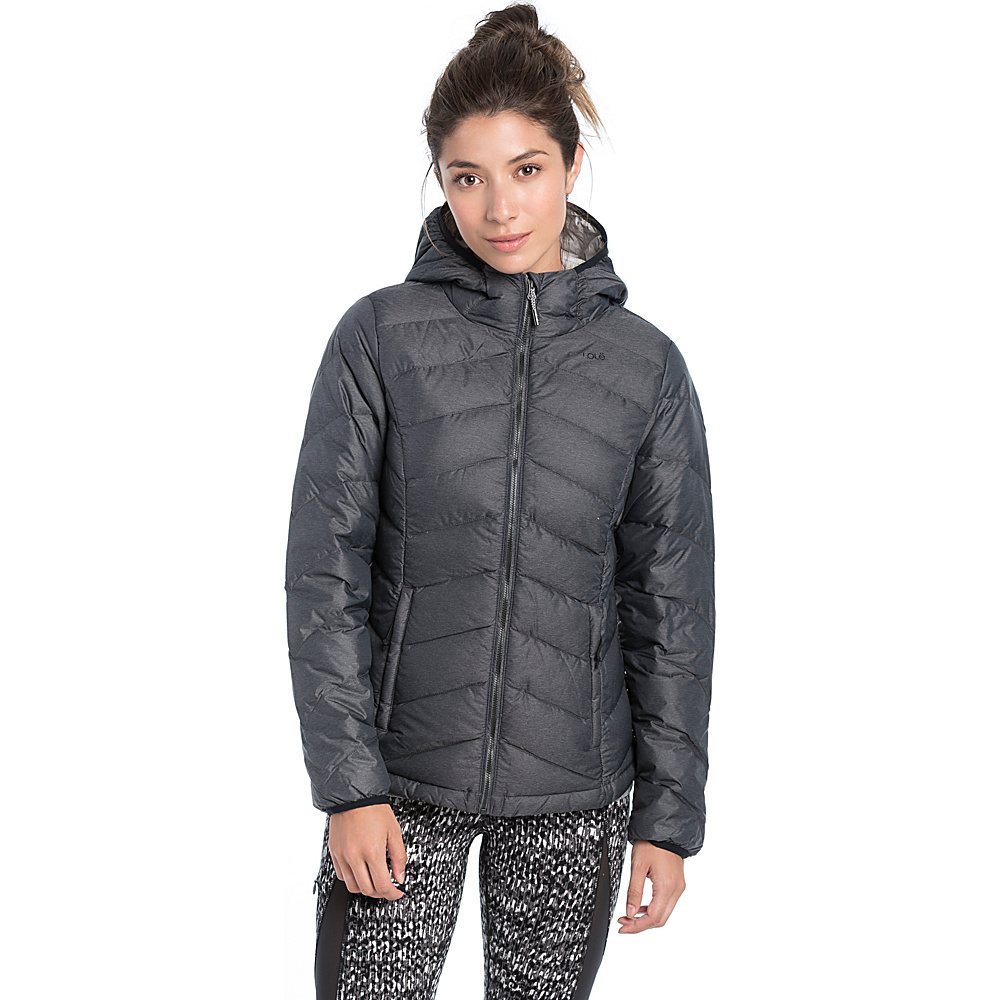 Lole Emeline Jacket M - Black Heather - Lole Womens Apparel - Apparel & Footwear, Women's Apparel