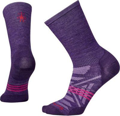 Smartwool Womens PhD Outdoor Ultra Light Crew Mountain Purple - Large - Smartwool Women's Legwear/Socks