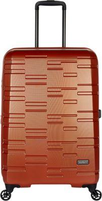 Antler Prism Embossed DLX 27 inch Hardside Spinner Orange - Antler Large Rolling Luggage