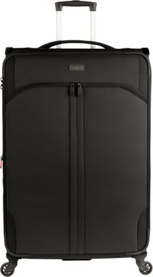 Antler Aire DLX 30 inch Large Spinner Black - Antler Softside Checked