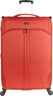 Antler Aire DLX 30 inch Large Spinner Tomato - Antler Softside Checked