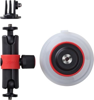 Joby Suction Cup & Locking Arm Black - Joby Camera Accessories 10502499