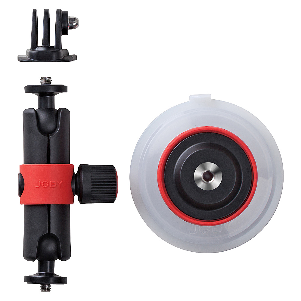 Joby Suction Cup Locking Arm Black Joby Camera Accessories