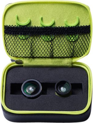 LimeLens Worlds Greatest Universal Smartphone Camera Lenses Black/Green - LimeLens Camera Accessories