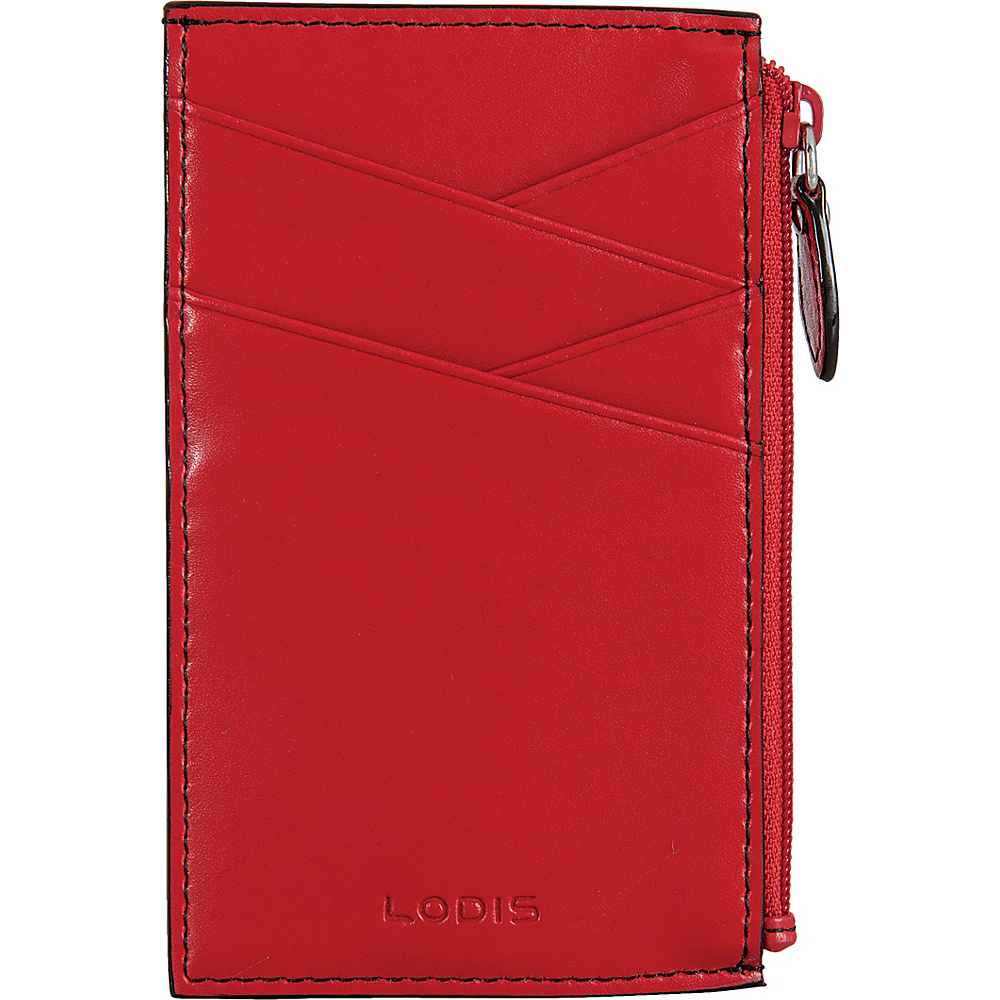 Lodis Audrey Ina RFID Card Case New Red - Lodis Womens Wallets - Women's SLG, Women's Wallets