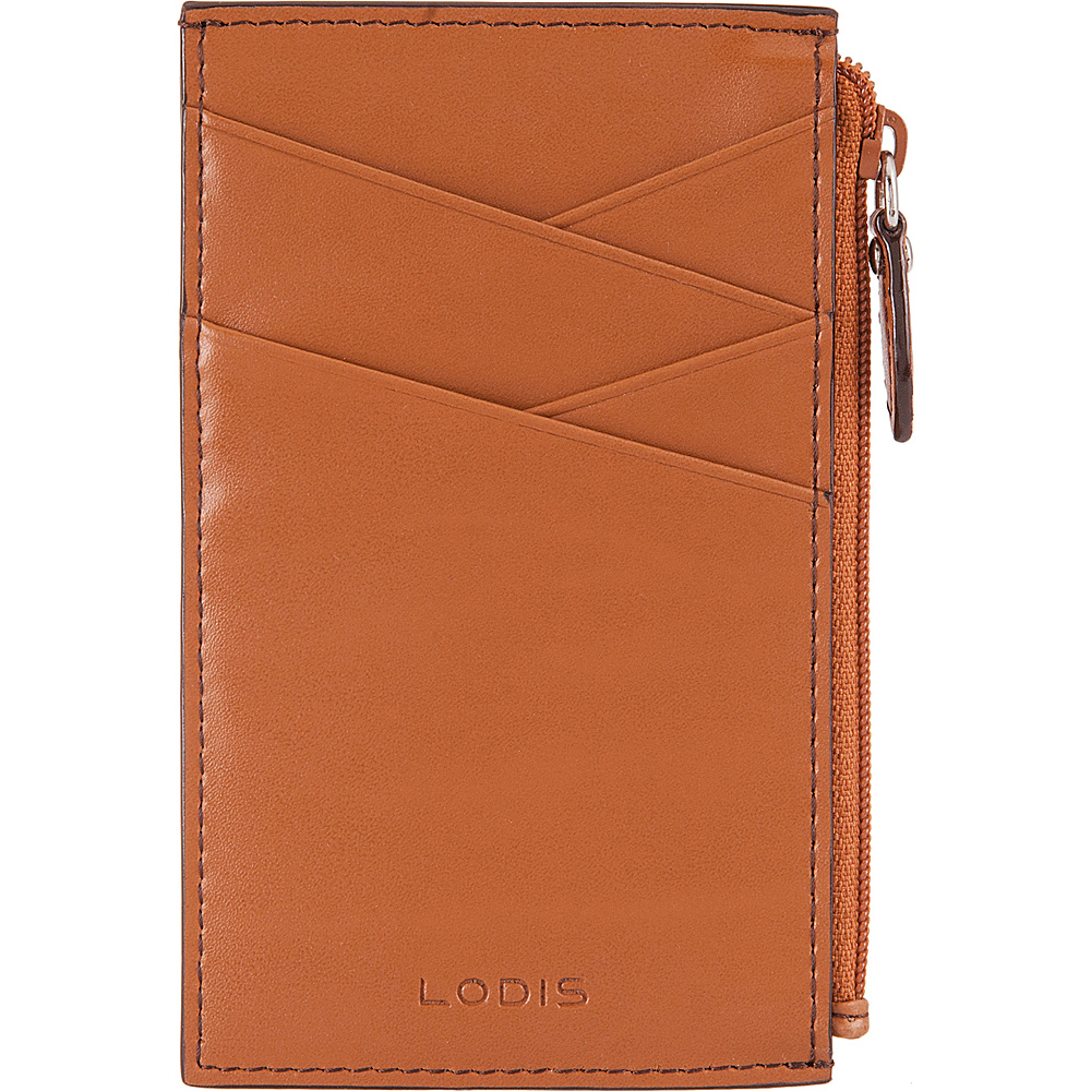 Lodis Audrey Ina Card Case Toffee/Chocolate - Lodis Womens Wallets - Women's SLG, Women's Wallets