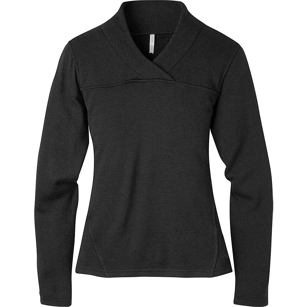 Mountain Khakis Rendezvous Micro Wrap Neck Shirt S - Black - Mountain Khakis Womens Apparel - Apparel & Footwear, Women's Apparel