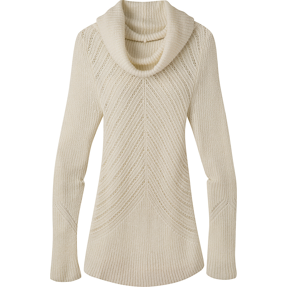 Mountain Khakis Countryside Cowl Neck Sweater M - Cream - Mountain Khakis Womens Apparel - Apparel & Footwear, Women's Apparel
