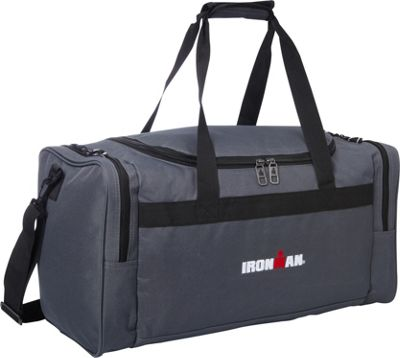 Travelway Group International Travelway Group International IRONMAN Duffel Grey - Travelway Group International Gym Duffels