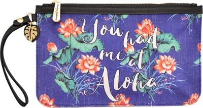 Tommy Bahama Handbags Boca Chica Beach Wristlet You Had Me At Aloha - Tommy Bahama Handbags Fabric Handbags