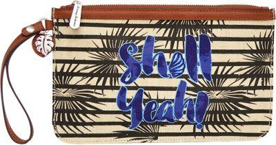Tommy Bahama Handbags Boca Chica Beach Wristlet Shell Ya - Tommy Bahama Handbags Women's Wallets