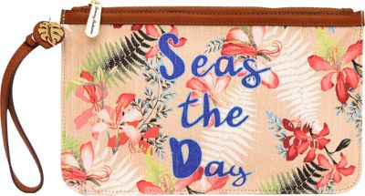 Tommy Bahama Handbags Boca Chica Beach Wristlet Seas The Day - Tommy Bahama Handbags Fabric Handbags