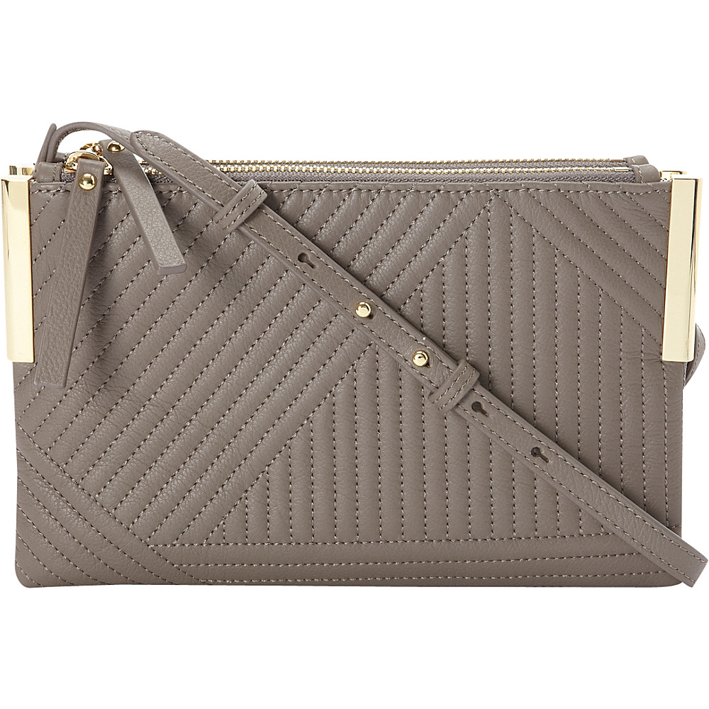 Vince Camuto Tina Crossbody Elephant Geometric Stitch Vince Camuto Designer Handbags
