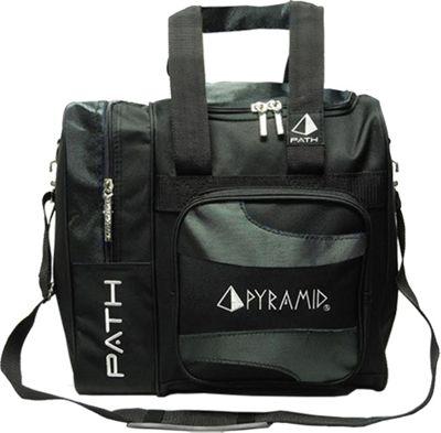 Pyramid Path Deluxe Single Tote Bowling Bag Black - Pyramid Bowling Bags