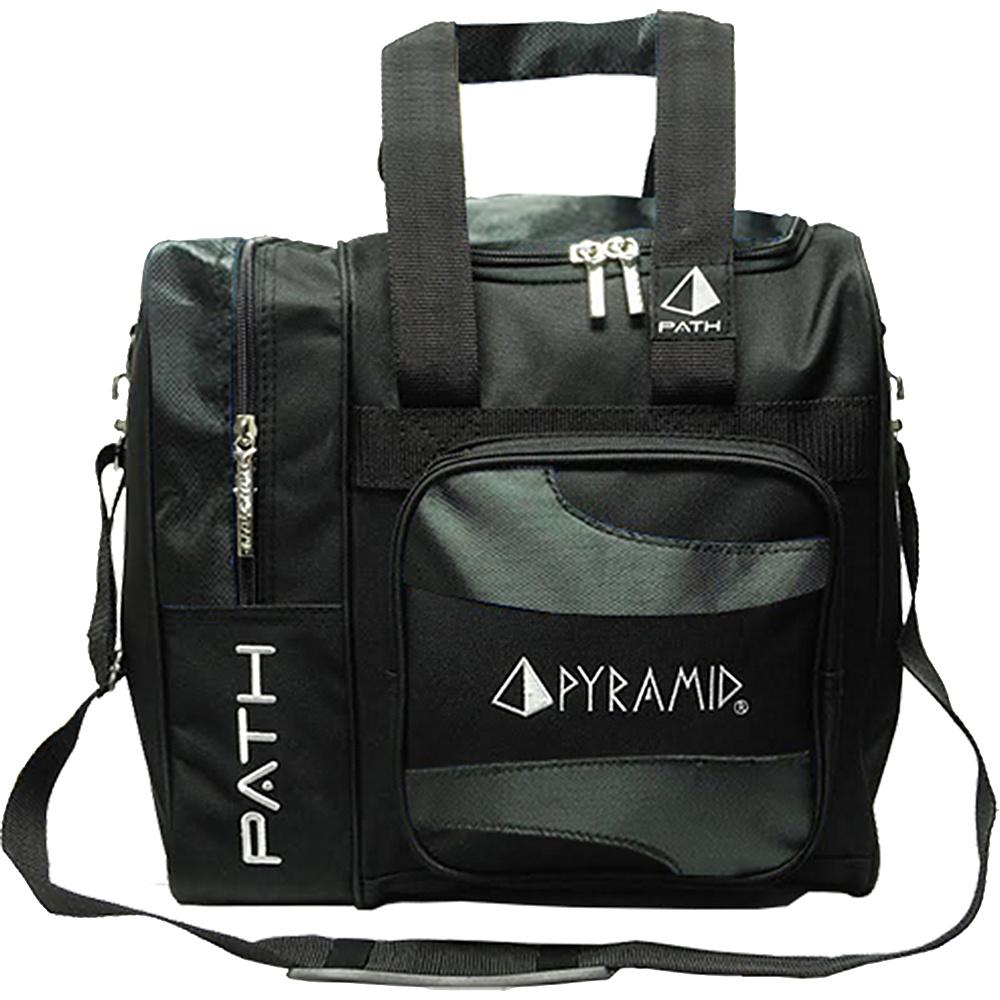 Pyramid Path Deluxe Single Tote Bowling Bag Black Pyramid Bowling Bags