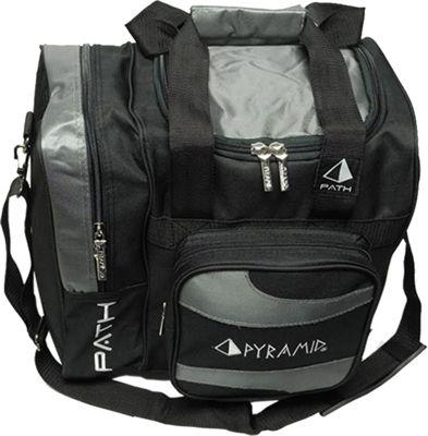 Pyramid Path Deluxe Single Tote Bowling Bag Silver - Pyramid Bowling Bags