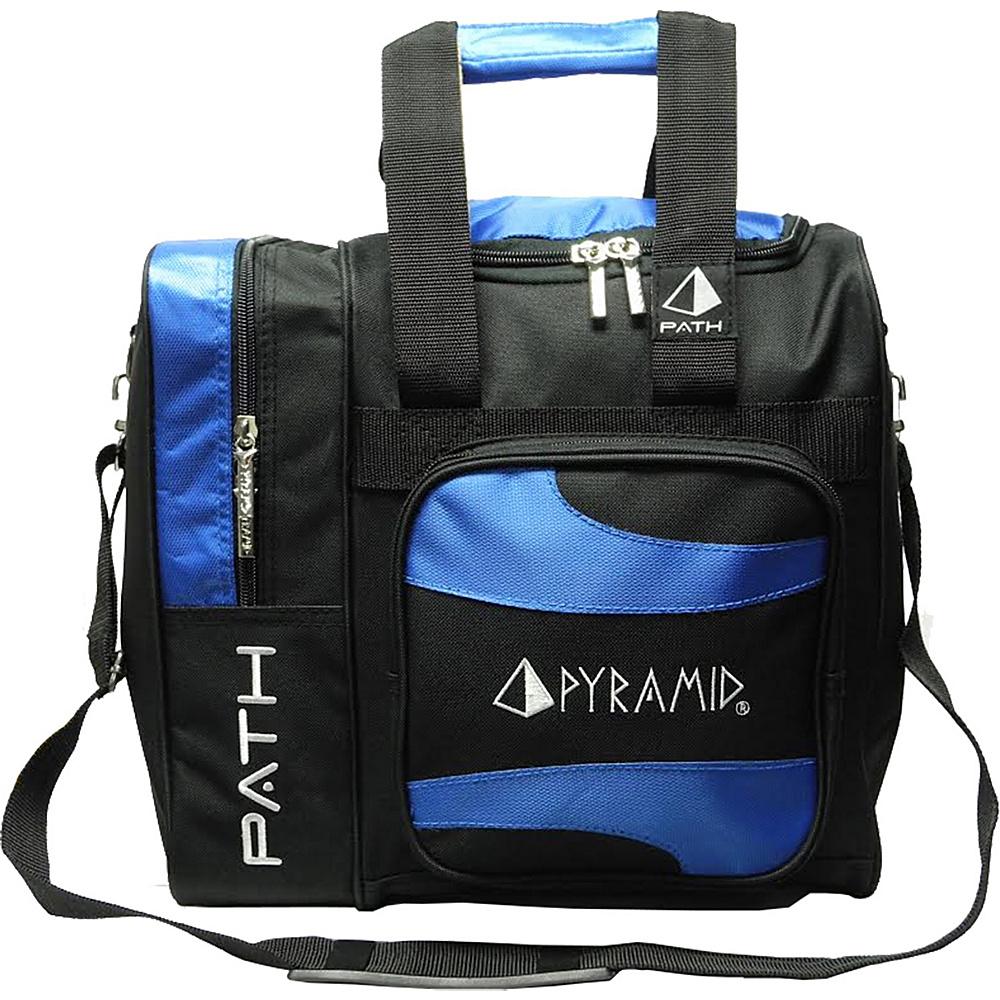 Pyramid Path Deluxe Single Tote Bowling Bag Royal Blue Pyramid Bowling Bags