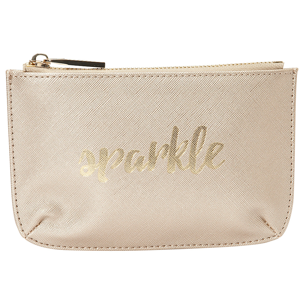 deux lux Bisou Small Pouch Gold deux lux Women s SLG Other