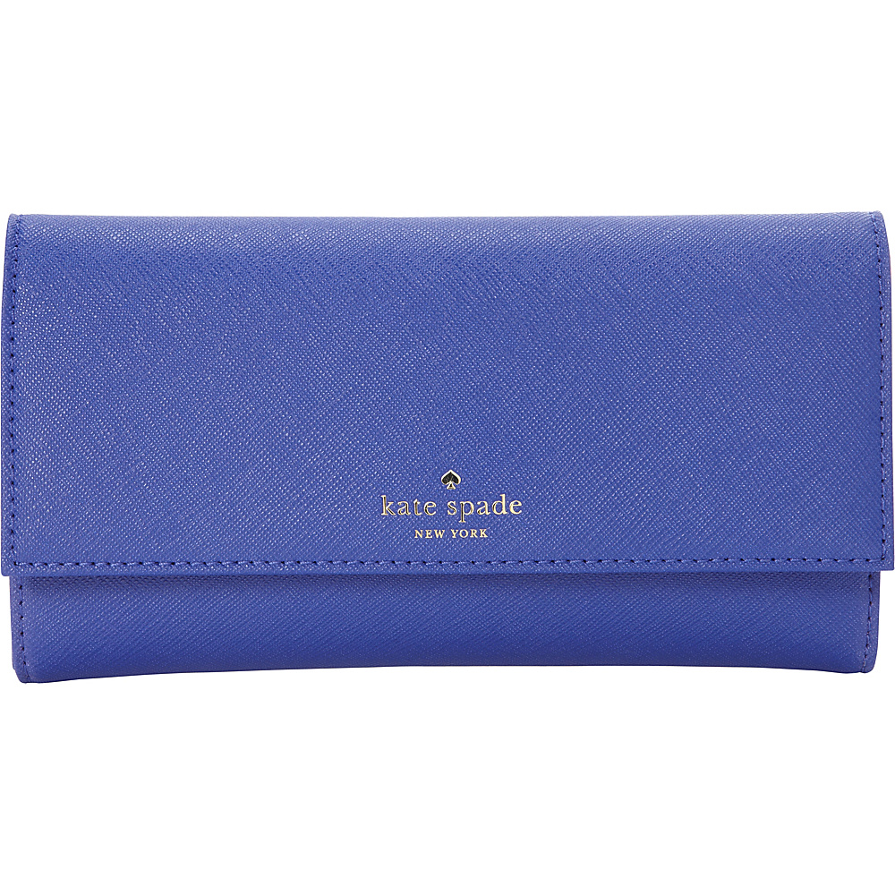 kate spade new york Leather iPhone 7 Wallet Nightlife Blue kate spade new york Women s Wallets