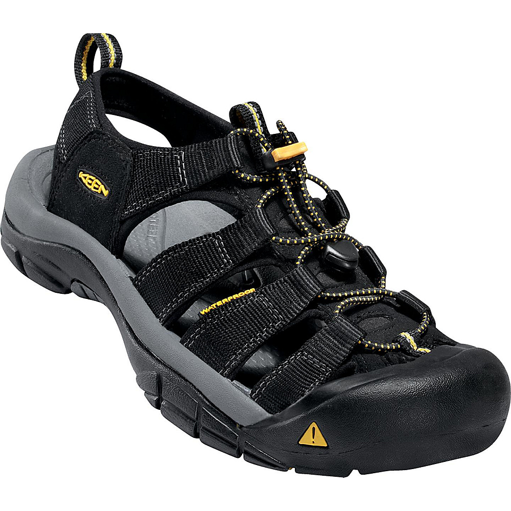 KEEN Newport H2 Sandal 10.5 - Black - KEEN Mens Footwear - Apparel & Footwear, Men's Footwear