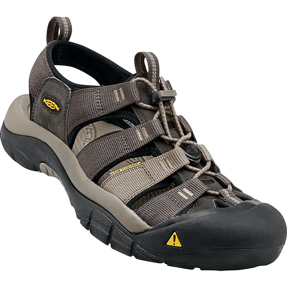 KEEN Newport H2 Sandal 10 - Black Olive / Brindle - KEEN Mens Footwear - Apparel & Footwear, Men's Footwear