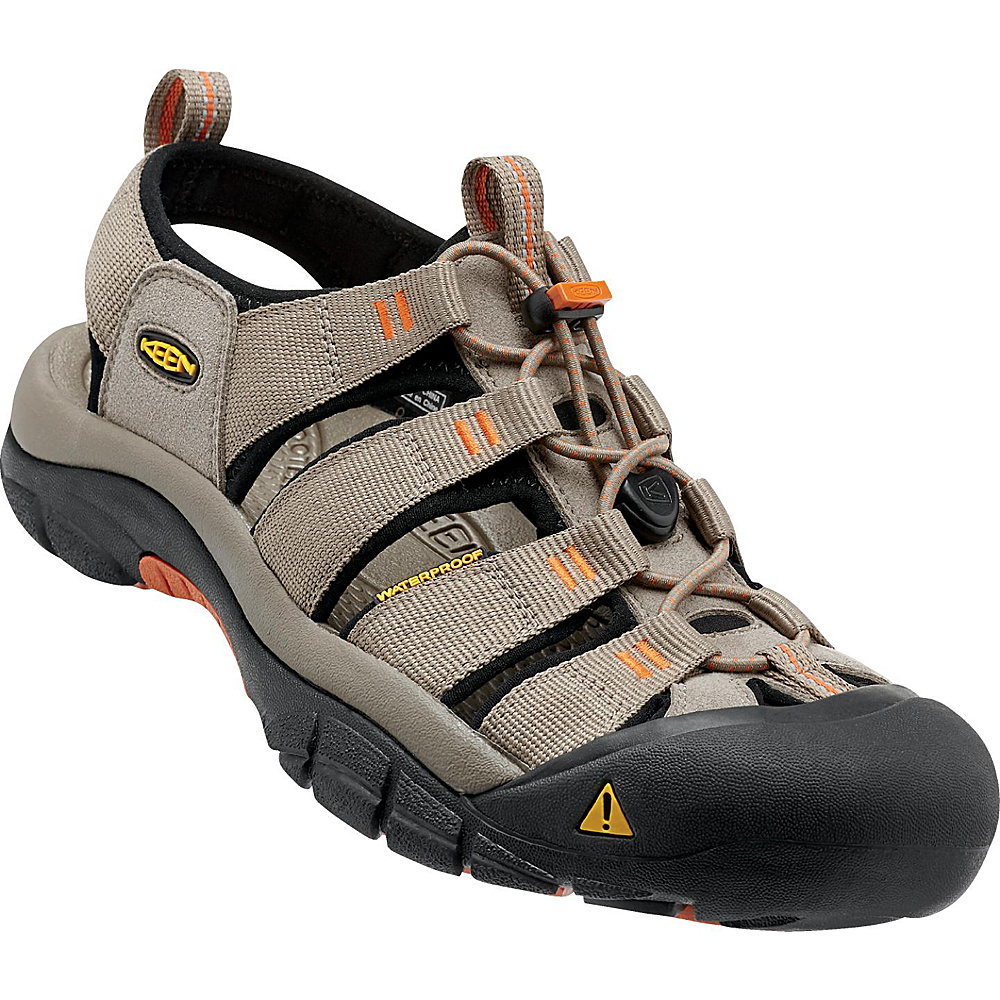 KEEN Newport H2 Sandal 11.5 - Brindle / Sunset - KEEN Mens Footwear - Apparel & Footwear, Men's Footwear
