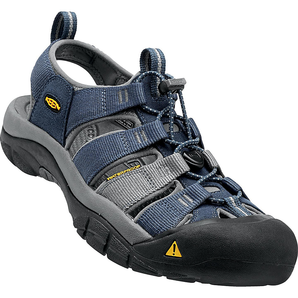 KEEN Newport H2 Sandal 12 - Midnight Navy / Neutral Grey - KEEN Mens Footwear - Apparel & Footwear, Men's Footwear