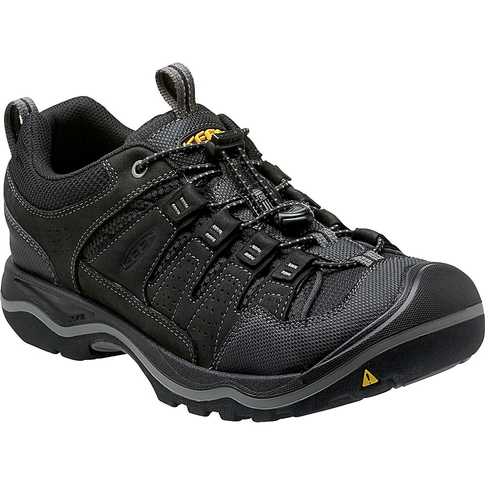 KEEN Mens Rialto Traveler Shoe 10 - Black - KEEN Mens Footwear - Apparel & Footwear, Men's Footwear
