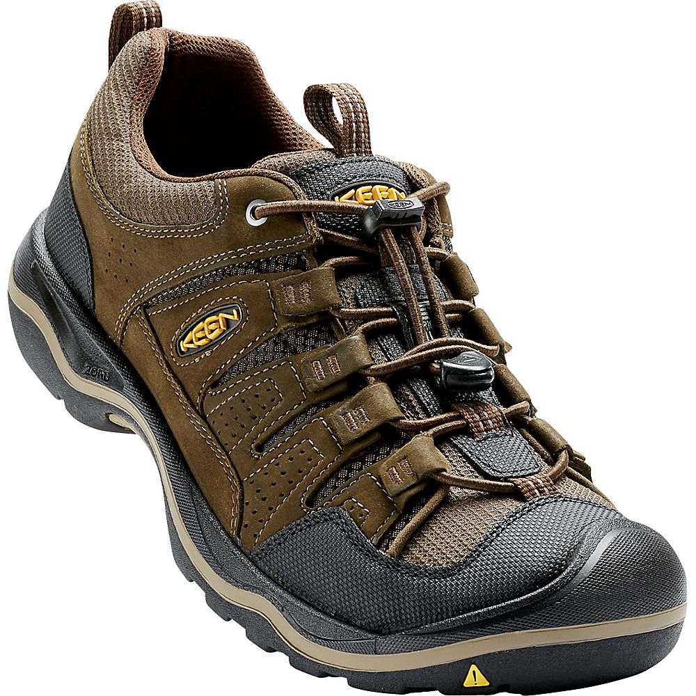 KEEN Mens Rialto Traveler Shoe 9.5 - Brown - KEEN Mens Footwear - Apparel & Footwear, Men's Footwear