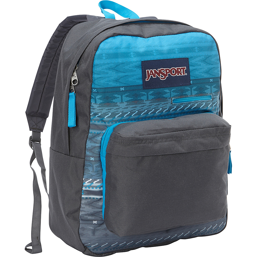 JanSport Digibreak Laptop Backpack- Discontinued Colors Blue Digi Stripe Fade - Black Label - JanSport Business & Laptop Backpacks - Backpacks, Business & Laptop Backpacks