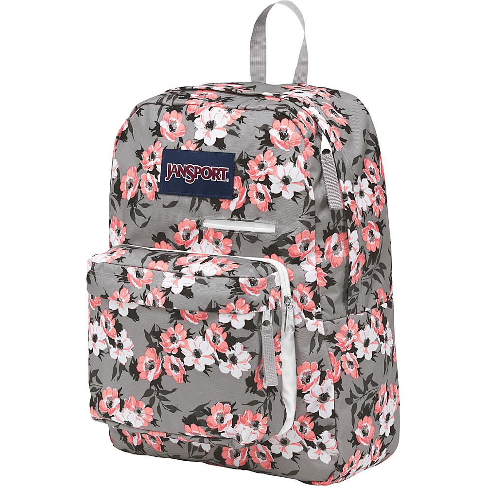 JanSport Digibreak Laptop Backpack- Sale Colors Coral Sparkle Pretty Posey - JanSport Business & Laptop Backpacks
