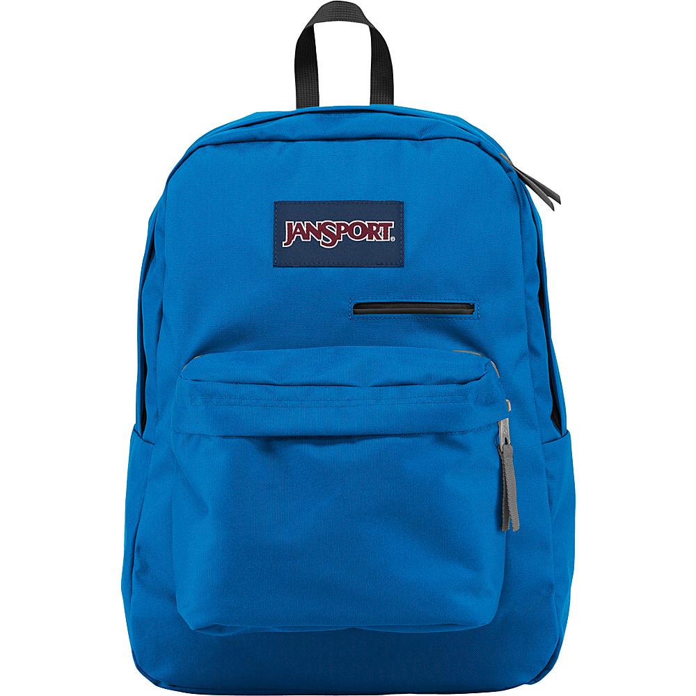 JanSport Digibreak Laptop Backpack- Sale Colors Stellar Blue - JanSport Business & Laptop Backpacks