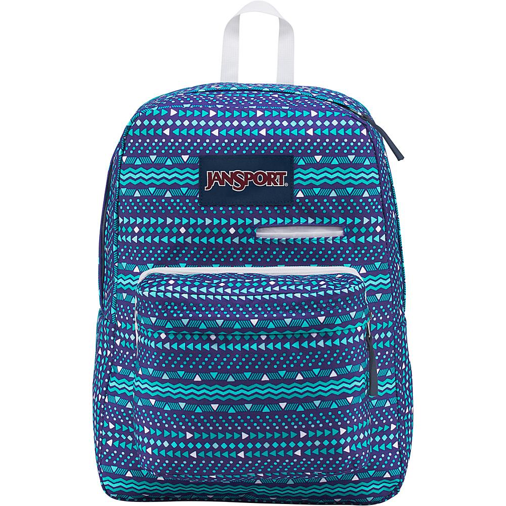 JanSport Digibreak Laptop Backpack- Sale Colors Tribal Wave Tonal - JanSport Business & Laptop Backpacks