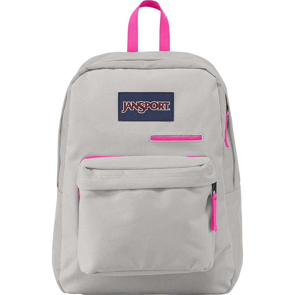 JanSport Digibreak Laptop Backpack- Discontinued Colors Grey Rabbit - JanSport Laptop Backpacks - Backpacks, Laptop Backpacks