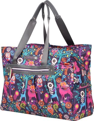 Lily Bloom Wild Woods Metro Tote WildWoods - Lily Bloom Luggage Totes and Satchels
