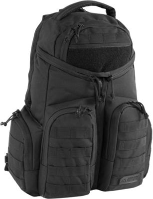 Highland Tactical Strike Heavy Duty Tactical Backpack Black - Highland Tactical Day Hiking Backpacks